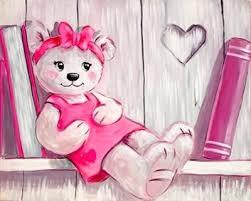 tableau ourson chambre bébé tableau chambre bebe garcon maison design zasideascom tableau pour