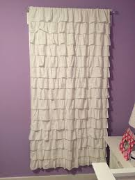 Ruffle Blackout Curtain Panels by Find More Two Pottery Barn Kids White Ruffle Blackout Curtain