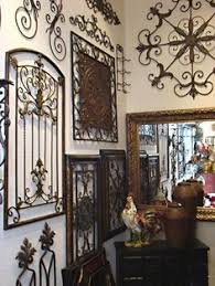 Love Using Iron With Tuscan Decor A Little Much Here But The Different Wrought Wall