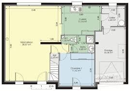 plan de maison 2 chambres marvelous plan maison t4 plain pied 6 plan de maison 2 chambres
