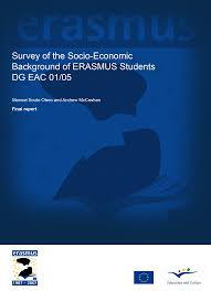 r lage si e conducteur survey of the socio economic background of erasmus students
