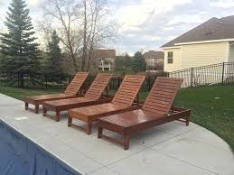 Diy Outdoor Chaise Lounge Chairs Teak Furniture Wicker Patio
