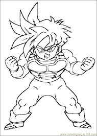Lovely Printable Dragon Ball Z Coloring Pages 33 About Remodel Download With