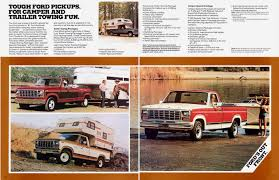 100 1981 Ford Truck Auto Brochures