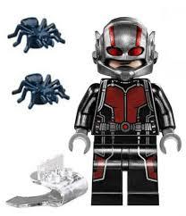 New Lego Ant Man Minifig Scott Lang Figure Minifigure 76039 Super Jumper Antman