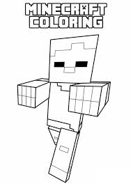 Minecraft Coloring Pages For Kids Of Animals