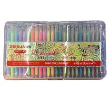 Best Quality Prettybaby Neon Water Chalk Diamond Gel Pens Fluorescent Glitter And Metallic Pen For Secret Garden Coloring Book Fine Drawing At Cheap