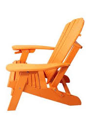 outer banks poly lumber folding adirondack chair w integrated