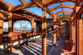 Simpson Decorative Joist Hangers by An Arts U0026 Crafts Porch Professional Deck Builder Outdoor Rooms