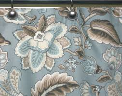 Jacobean Floral Curtain Fabric by Shower Waverly Fabric Shower Curtains Amazing Waverly Shower