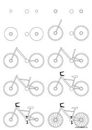 Easy Dirt Bike Helmet Drawing