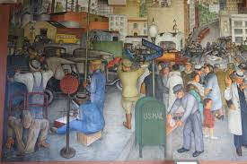 Coit Tower Murals Images by File City Life By Victor Arnautoff 1 Of 3 Coit Tower San