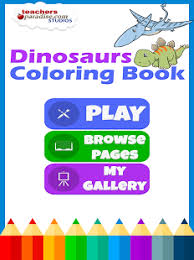 Dinosaurs Coloring Book Screenshot Thumbnail