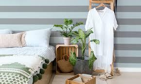 tapete für kleines schlafzimmer der interior design