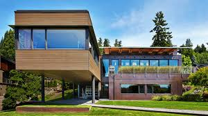 100 Bay Architects Brook Residence By SKL On Mercer Island In