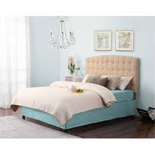 Target Roma Tufted Wingback Bed by Dorel Living Torino Tufted Headboard Beige