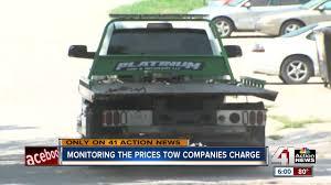 100 Tow Truck Kansas City KCMO Seeks To Crack Down On Towing Price Gouging
