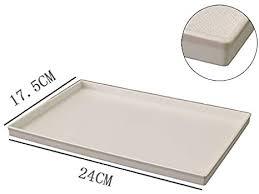 amgend bad tablett rechteckigen tablett ablageschale bad