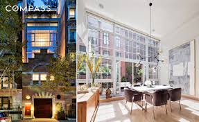 100 Glass Walled Houses 1890s Carriage House Fronts A Glasswalled Gramercy Home