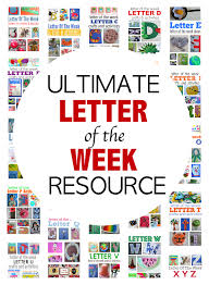 Letter The Week Crafts