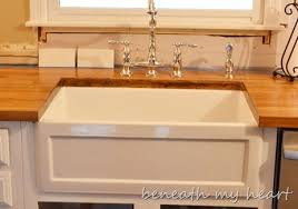 Home Depot Fireclay Farmhouse Sink by Budget Breakdown Of The Kitchen Makeover Beneath My Heart