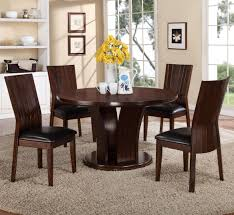 100 Dress Up Dining Room Chairs Crown Mark Daria 5 Piece Set With Round Pedestal Table And