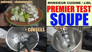 test cuisine monsieur cuisine lidl silvercrest test utilisation conseils recette