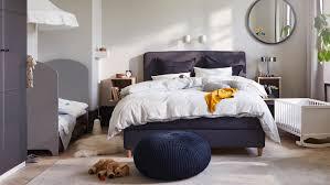 schlafzimmer mit babybett einrichten ikea deutschland