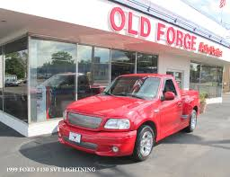 100 1999 Ford Truck F150 Lightning OLD FORGE MOTORCARS INC