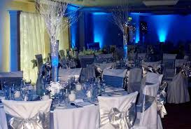 Royal Blue And Silver Wedding Ideas Reception Color Combos The Glow In Dark
