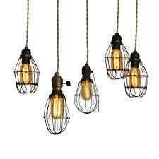 Vintage Industrial Lighting Fixtures Image