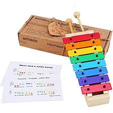 schmetterline harmonisches xylophon für kinder aus holz mit