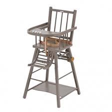 chaise bebe bois avis chaise haute transformable combelle chaises hautes repas