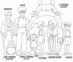 Totoro Coloring Pages TelematikInstitutorg