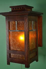 both 10 and 14 heights sconces craftsman style wall sconce