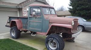 100 1950 Willys Truck Pick Up