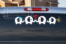 100 Custom Window Decals For Trucks Elephant Family Car Decal By GoodGollyGraphics On Etsy