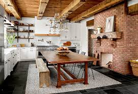 Rustic Modern Kitchen Ideas 23 Farmhouse Kitchen Ideas To Better Homes Gardens