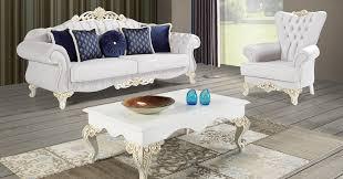casa padrino barock wohnzimmer set hellgrau weiß creme gold 2 sofas 2 sessel 1 couchtisch edle wohnzimmer möbel im barockstil