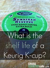 Gevalia Pumpkin Spice Latte Keurig by What Is The Shelf Life Of A Keurig K Cup
