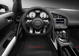 2012 Suzuka Grey Audi R8 GT Interior