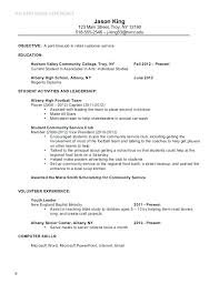 Basic Job Resume Examples For Part Time Jobs Google Search Objective