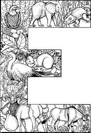 E Is For Environment Colouring Sheet