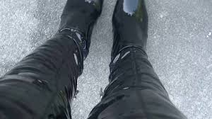 its all about my shiny black patent leather boots youtube