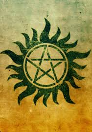 Supernatural Protection Tattoo Aside From The Pentagrams I Really Do Like This