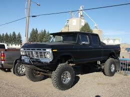 Ford Truck | Ford Quad Cab Truck With Huge Lift And Tires. | Dave_7 ...