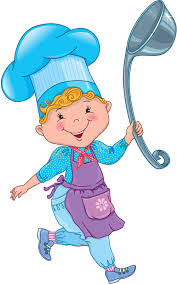 Chef Kids With Ladle