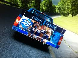 100 Bud Light Truck By Michael Lathrop Trading Paints