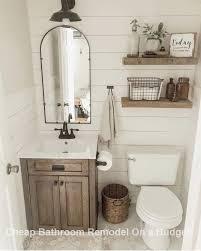 creative bathroom organization and diy remodeling