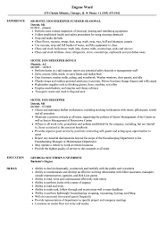 Hotel Housekeeper Resume Samples | Velvet Jobs Housekeeping Resume Sample Monstercom Description For Of Duties Hospital Entry Level Hotel Housekeeper Genius Samples Examples Free Fresh Summary By Real People Head 78 Private Housekeeper Resume Sample Juliasrestaurantnjcom The 2019 Guide With 20 Example And Guide For Professional Housekeeping How To Make